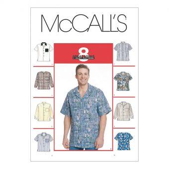 Patron McCall's 2149 Chemise homme 50 au 56