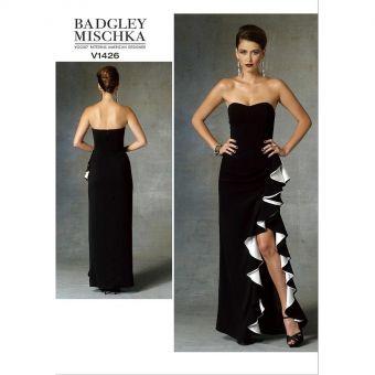 Patron Vogue 1507 Top Blouse femme dos échancré V et Pantalon taille haute par Rachel Ccomey - du 32 au 48