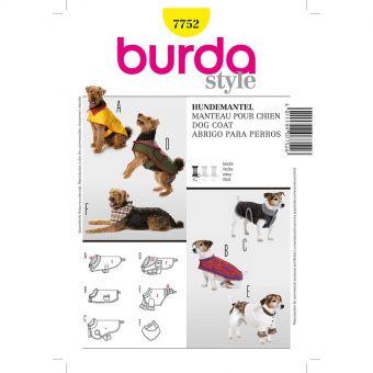 Patron Burda 7752 Idée Creative Manteau pour chien