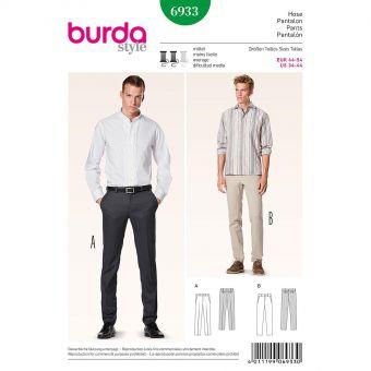 Patron Burda 6933 Pantalon