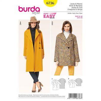 Patron Burda 6330 - Blouse pour femmes de 36 à 48