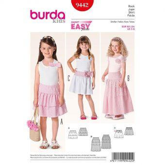 Patron Burda 9509 Kids Robe folklore