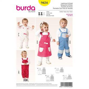 Patron Burda 6960 Idée Creative Habits de poupée