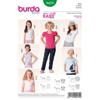 Patron Burda 9420 Kids Robe