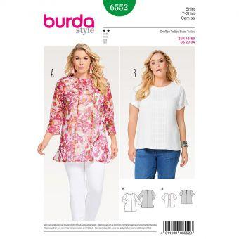 Patron Burda 6552 Tee-Shirt