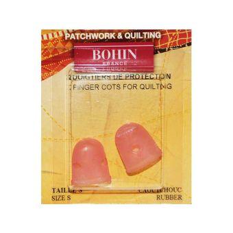 Bohin 91720 - Doigtiers agrippants souples - Small