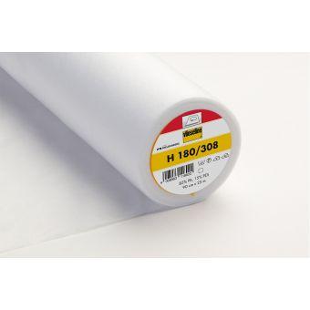Vlieseline - H 180 Entoilage thermocollant souple - blanc - 90cm - vendu au mètre