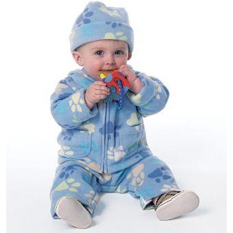 Patron Butterick 6238 Patrons bébés, tissus extensible, tailles 0 à 18 mois