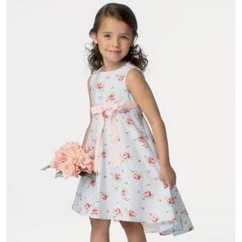 Patron Butterick 6013 Robe enfant/fillette, tailles 2 à 5 ans et 6 à 8 ans