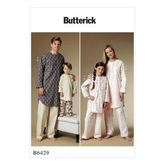 Patron Butterick 6429 Tunique et pantalon