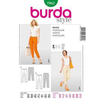 Patron Burda 7062 Pantalon dames