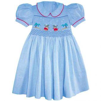 Patron Frégoli 331 - Robe fille 6 à 36 mois