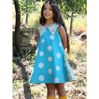 Her Little World - Patron Robe SEREINE fille de 2 à 10 ans