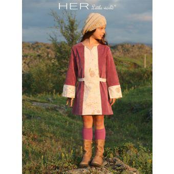 Her Little World - Patron Robe HARMONIEUSE fille de 2 à 10 ans