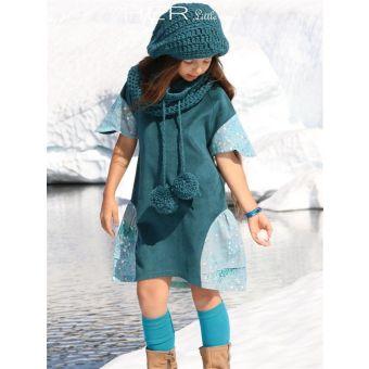 Her Little World - Patron Robe FLEURIE de 2 à 10 ans