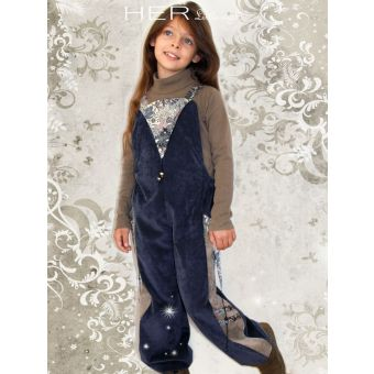 Her Little World - Patron Salopette ETOURDIE fille de 2 à 10 ans