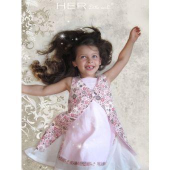 Her Little World - Patron Gilet COURTOIS fille de 2 à 8 ans