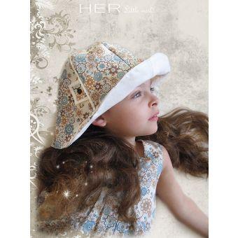 Her Little World - Patron Chapeau COQUET fille de 54 à 56 cm