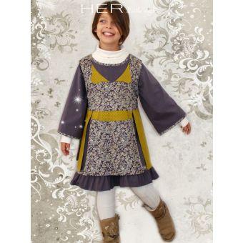 Her Little World - Patron Robe BOHÊME fille de 2 à 10 ans