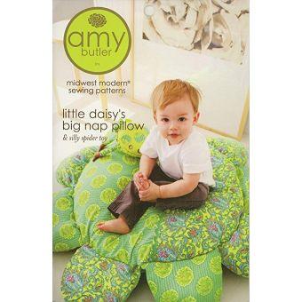 Patron Amy Butler 053LD Little Daisy Grand Coussin Enfant