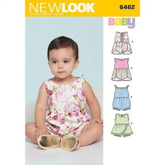 Patron New Look 6462 Ensemble bébé