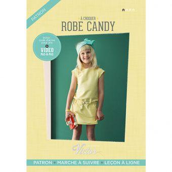 Patron Maison Victor CANDY - Robe fille de 3 à 18 ans