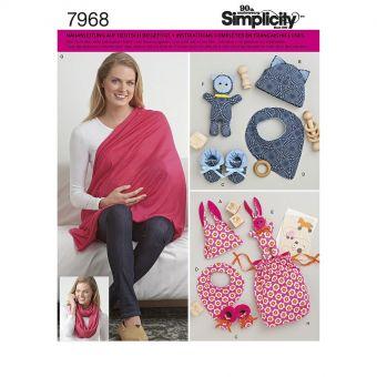 Patron Simplicity 8312 Accessoires bébé
