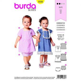 Patron Burda  Kids 9339 Coordonnés
