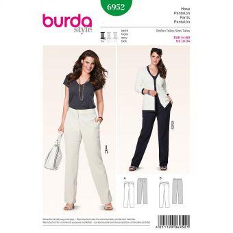 Patron Burda 6952 Pantalon