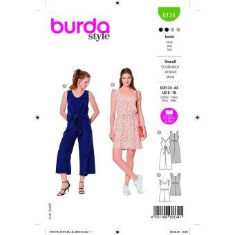 Patron Burda 6134 - Combinaisons sans manches du 36 au 46