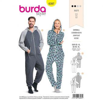 Patron Burda 6397 Combinaison