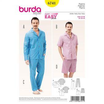 Patron Burda 6741 Pyjama