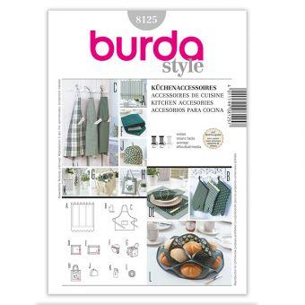 Patron Burda Creative 8125 Accessoires pour la cuisine