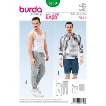Patron Burda 6719 Pantalon