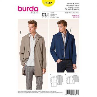 Patron Burda 6932 Manteau et veste