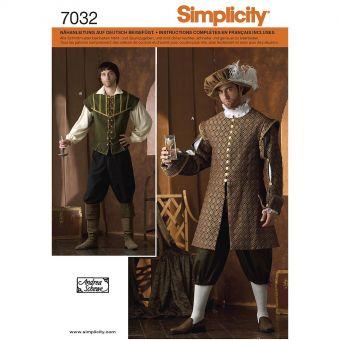 Patron Simplicity 4059 - Déguisement costume historique