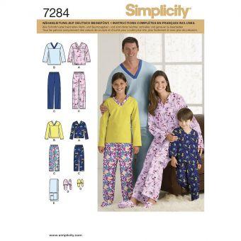 Patron Simplicity 3935 vêtement de nuit