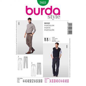 Patron Burda 7022 Pantalon