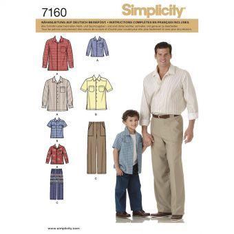 Patron Simplicity 4760 pantalon et chemise