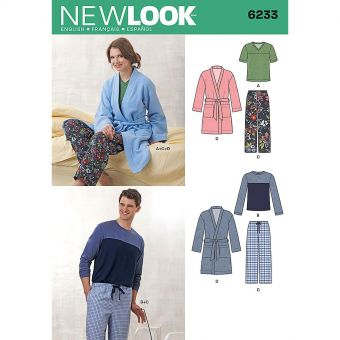 Patron New Look 6233 Pyjama