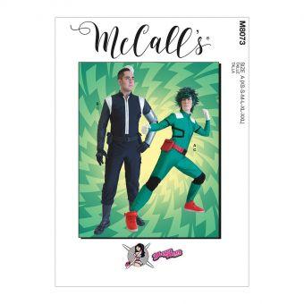Patron McCall's 8073 Déguisement style Super - Héros UNISEXE du 32 à 54