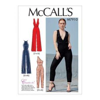 Patron Mc Call's 7910 - Combinaison pantalon du 34 au 50