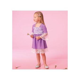 Patron McCall's 7108 - Robe Enfant de 2 à 8 ans