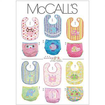 Patron McCall's 6108 Accessoires bébé