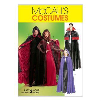 Patron McCall's 4139 Cape pour déguisement adulte