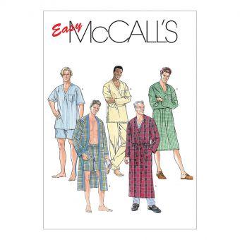 Patron McCall's 6231 Ensembles de pyjamas - Homme