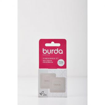 Set de 2 craies tailleurs Burda - Blanc