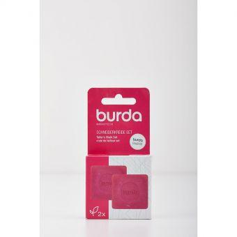 Set de 2 craies tailleurs Burda - Rose