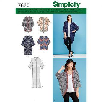 Patron Simplicity 1108 Gilet