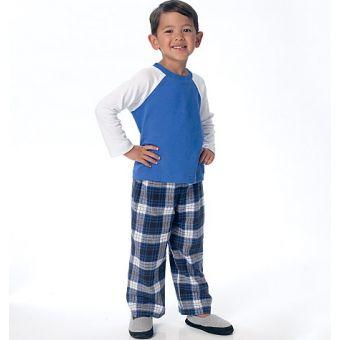 Patron Butterick 6278 haut, short et pantalon garçon de 2 à 8 ans, FACILE
